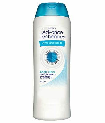 Avon Advance Techniques Anti - Dandruff 2 In 1 Shampoo and Conditioner 200 ml