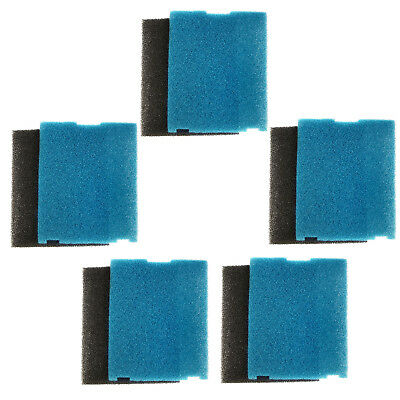 5-Pack HQRP Coarse & Flat Box Filter Pad for Tetra Pond Filtration Fountain Kits