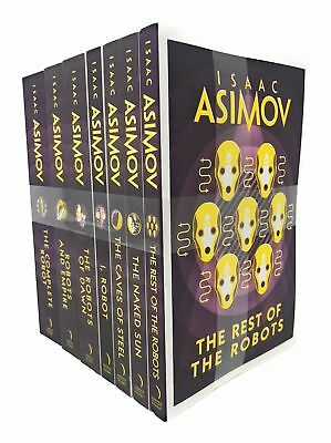 Isaac Asimov 7 Books Set Collection Pack Inc The Rest Of The Robots, I Robot