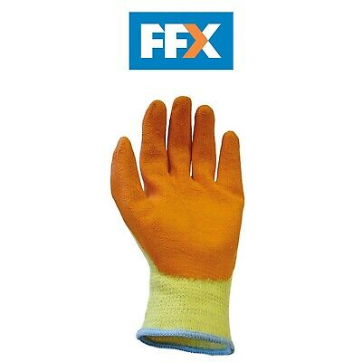 Yard, Garden & Outdoor Living Scan Hi-vis Orange Foam Latex Coated Gloves Size 8 Medium