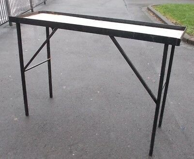 All Stainless Steel Work Table Ikea Utby 45 00 Picclick Uk