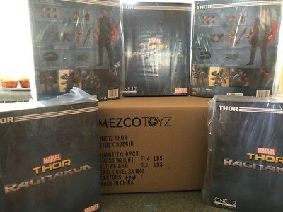 MEZCO ONE:12 COLLECTIVE Ragnarok Movie Thor 6 INCH figure NEW! FREE SHIPPING!
