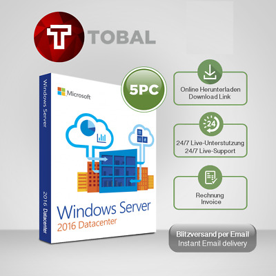 WINDOWS SERVER 2012R2/2016(Std,Ess,Dc RDS 10/20/50)User,Device CAL key per email