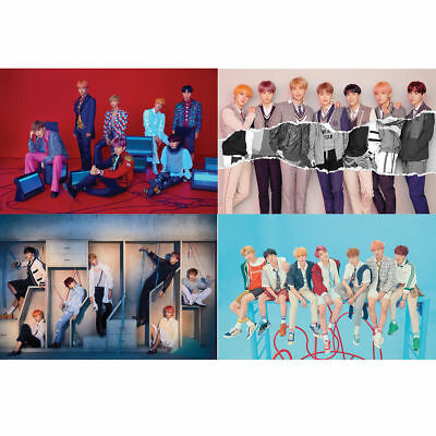 BTS - LOVE YOURSELF 結 ANSWER S E L F VER. OFFICIAL 4 POSTER SET Free shiping