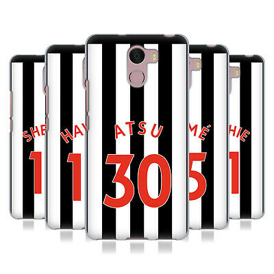 Newcastle United Fc Nufc 2017/18 Players Home Kit 2 Gel Case For Wileyfox Phones