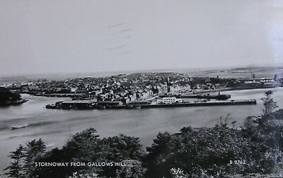 Stornoway From Gallows Hill Isle Of Lewis Early Rp Pc