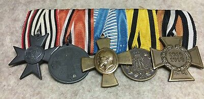 German mounted group of  5  medals - CIVILIAN