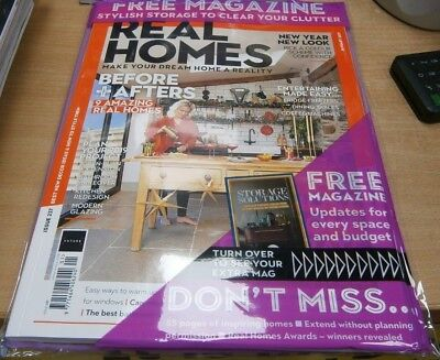 Real Homes magazine #237 Jan 2019 9 amazing homes + Storage solutions guide