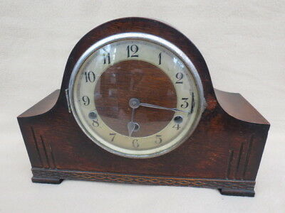 Vintage Whittington/westminster Chime German 8 Day Kienzle Mantel Clock For Rest