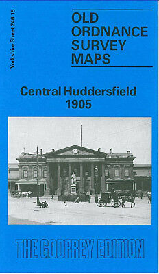 Godfrey Edition Old Ordnance Survey Maps Yorkshire Kirklees & Huddersfield