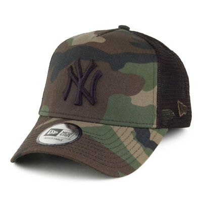New Era Hats New York Yankees Trucker Cap - Camo Team - Camouflage