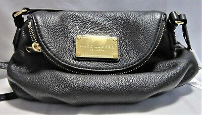 380826abaadc New Marc Jacobs Classic Q Mini Natasha Crossbody Shoulder Bag Black Free  Ship