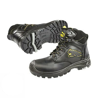 e85301958c3 PUMA BORNEO MID Safety Mens Composite Toe Cap Industrial Work Boots ...