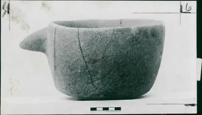 A 7,500 year-old bowl, hallowed from a solid lump of stone, prior to the era of