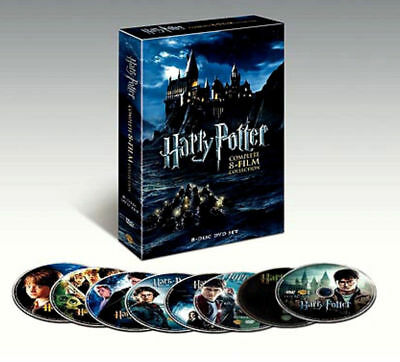 Harry Potter Complete 8-Film Collection (DVD, 2011, 8-Disc Set)