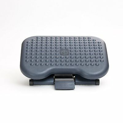 Mind Reader Brand Ergonomic Adjustable Footrest FTREST-BLK