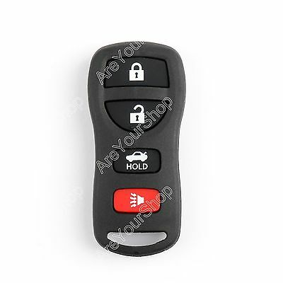4 Buttons Keyless Entry Remote Control Shell Case For Altima 350Z FX37 FX50