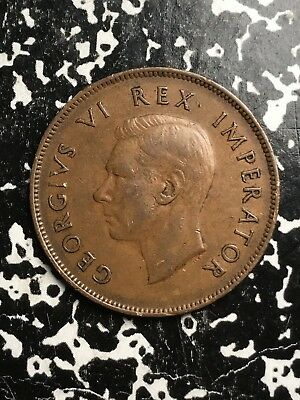 1942 South Africa 1 Penny Lot#0528