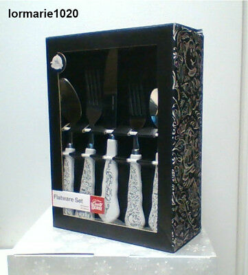 Disney Parks Beauty and the Beast 20 Pcs Flatware Set New in box factory sealed