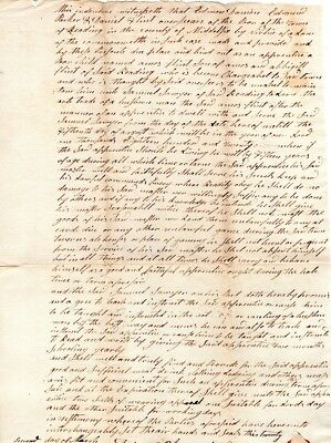 1813, Reading, Mass; 7 year old boy, apprenticeship contract, Overseers signed
