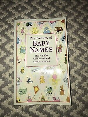 The Treasury Of Baby Names Book