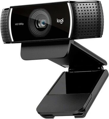 Logitech C920 HD Pro Webcam - Full HD 1080p Video Calling and Recording with...