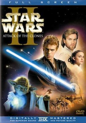 Star Wars, Episode II: Attack of the Clones (Full Screen Edition) [DVD] NEW!