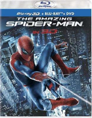 The Amazing Spider-Man (Blu-ray 3D/Blu-ray/DVD + UltraViolet Digital) NEW!