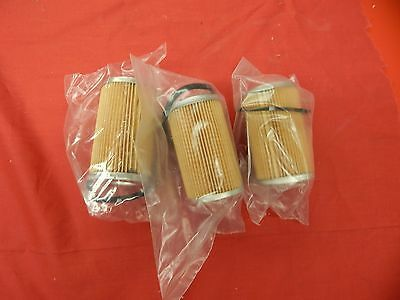 3 NEW FRAM 390 406 427 428 Fuel Filter Canister Elements #B7Q-9155-A