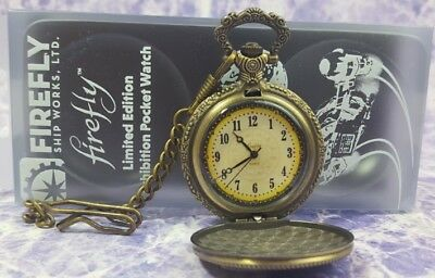 FireFly Serenity Shepherd Book Exhibition Pocket Watch Limited Edition Metal ver
