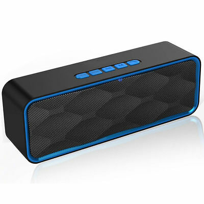 Wireless Bluetooth 4.2 Speaker Portable Subwoofer Super Bass Stereo Loudspeakers