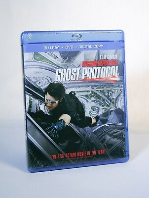 Brad Bird's Mission: Impossible GHOST PROTOCOL (Blu-ray+DVD, 2-Disc) Tom Cruise