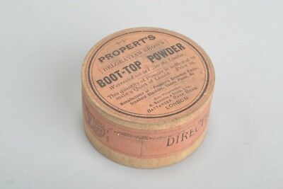 Perfectly Legal Best Belgravian Brown Pot of Victorian Boot Top Powder. KGRJ