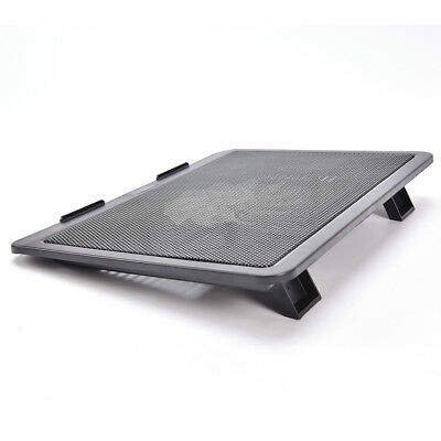 "Laptop Cooler Cooling Pad Base Big Fan USB Stand for 14"" LED Light Notebook AU"