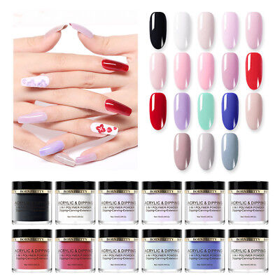 BORN PRETTY 3 in 1 Polymer Dipping Acrylic Powder Carving Extension Manicure