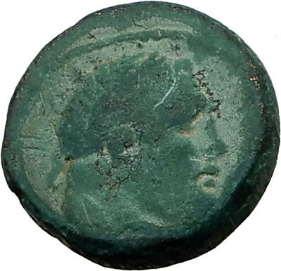 SARDES Lydia Genuine 133BC Authentic Ancient Greek Coin HERCULES & APOLLO i65504