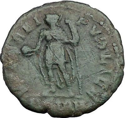 CONSTANTIUS II Constantine the Great  son w power symbol  Roman Coin i33112