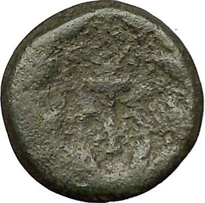 ELAIA in AEOLIS 2-1CenBC Demeter Torch Authentic Ancient Greek Coin i51993