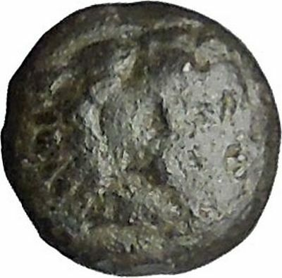 PERGAMON in MYSIA 310BC Hecules Athena Authentic Ancient Greek Coin i49525