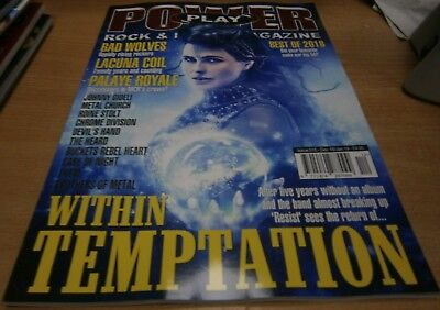 PowerPlay Power Play magazine Dec 18/Jan 19 Within Temptation Bad Wolves & more