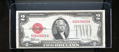 1928  USA $2  Banknote DCW49