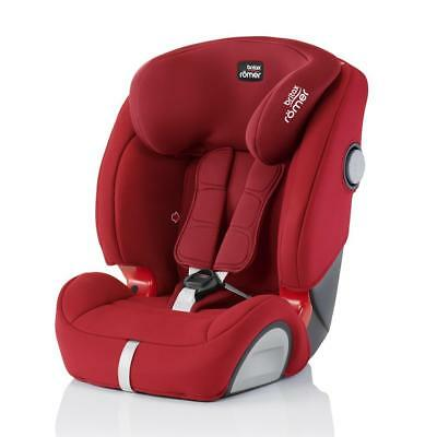Britax Romer Evolva 123 SL SICT IsoFix Car Seat (Flame Red) ON SALE! WAS £210