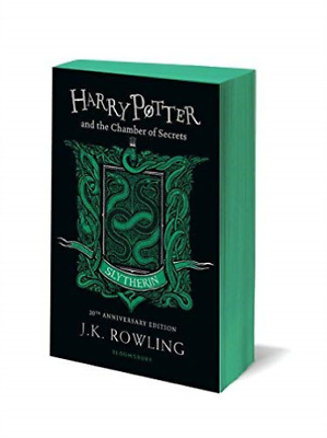 J.K. Rowling-Harry Potter And The Chamber Of Secrets - Slytherin Editio BOOK NEW