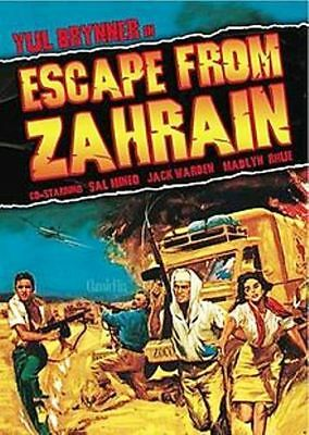5  Films On One Dvd Escape Fron Zahrain & Torpedo Run  Are Just 2 [Dvd Only]