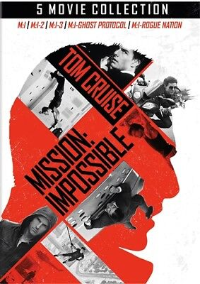 MISSION IMPOSSIBLE 5-MOVIE COLLECTION New Sealed 5 DVD Set 1 2 3 4 5