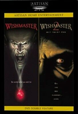 WISHMASTER + WISHMASTER 2 EVIL NEVER DIES New Sealed DVD Double Feature