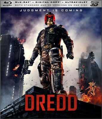 DREDD New Sealed Blu-ray + 3D