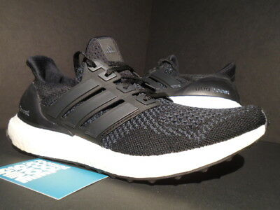 new arrival 944ca 11bc7 2015 Adidas Ultra Boost M 1.0 Core Black White Grey Yeezy 350 Pk S77417 7.5