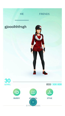 Pokemon-Go-Account Level 30 | 50k to 100k Stardust AUTO SEND 5 min