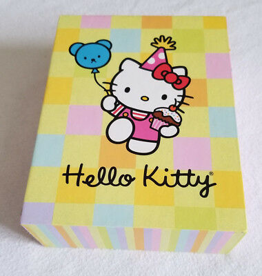 2003 HELLO KITTY 14 Note Cards w/ Envelopes Set in Keepsake Box Excellent Cond